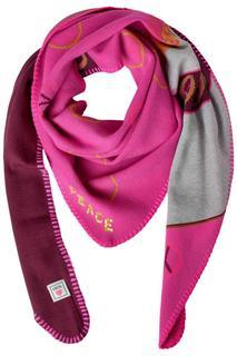 Driehoekige sjaal met motief