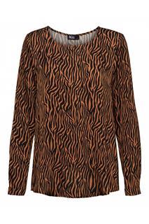 Woman Shirt / Top Cognac Linte