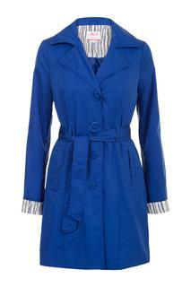 Dames Trenchcoat blauw