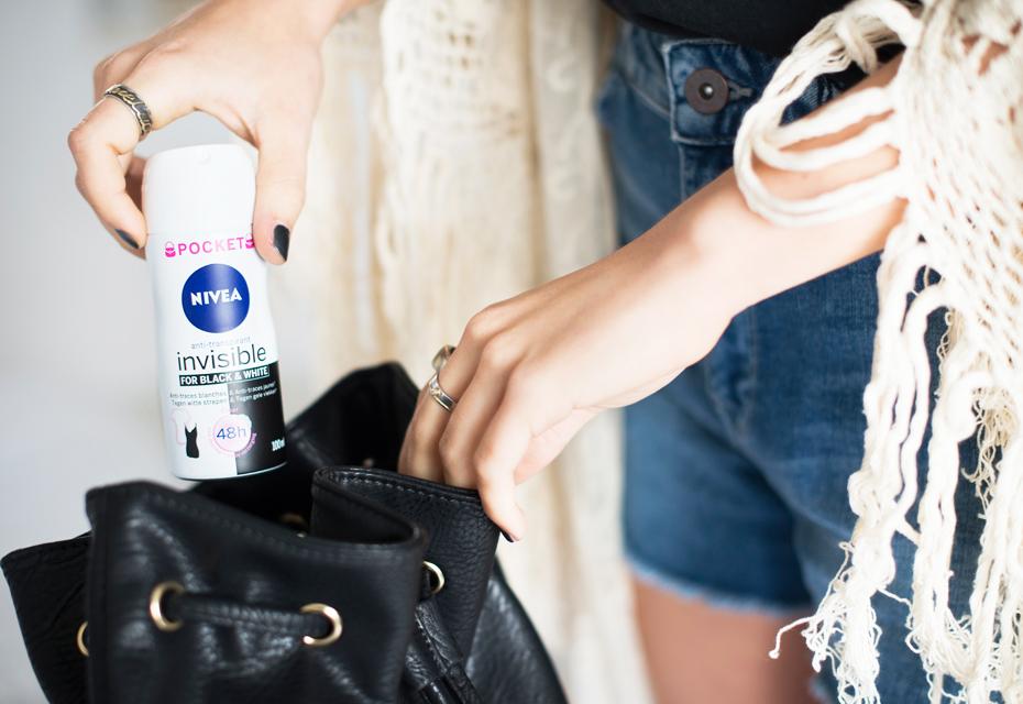 NIVEA Invisible for Black & White Deodorant