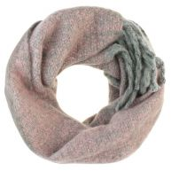 Oversized Knitted Scarf - Pink