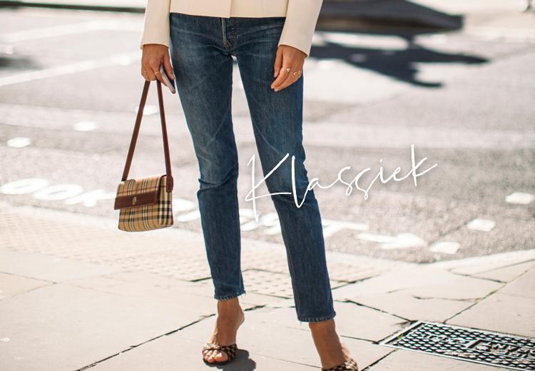 Niets zo klassiek als de blauwe jeans