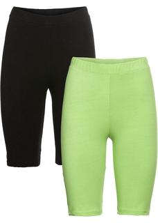 Dames short (set van 2) in groen