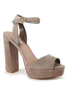 Madeline sandalette van suède