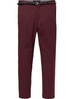Classic tailored pants in stripes, combo a
