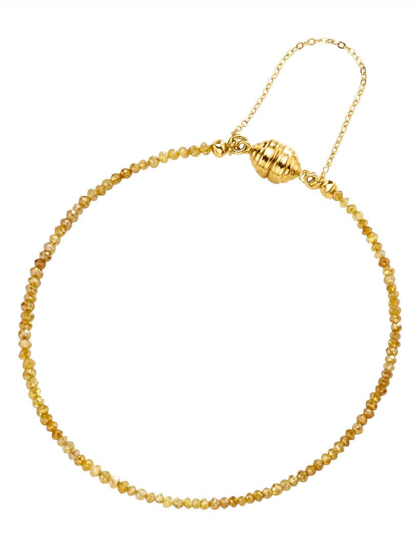 Diemer Diamant Armband metdiamanten geel Verkoopadressen Kwaliteit Gratis Verzending Te Koop Gratis Verzending 2018 Nieuwe zxCkl