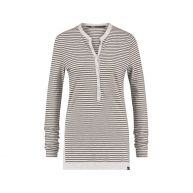 Penn & Ink Lange mouwen shirt Female Grijs