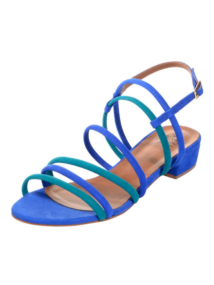 Cobalt / Turquoise Sandale Vente La Vente En Ligne Livraison Gratuite Le Meilleur Gros TxqWdZhQGd