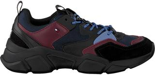Blauwe Tommy Hilfiger Sneakers Cosy Chunky