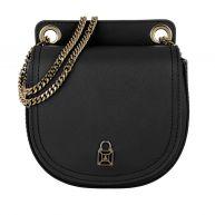 Patrizia Pepe Schoudertassen - Leather Crossbody Bag 1 Black in zwart voor dames