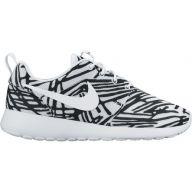 Nike Roshe One Print W schoenen wit zwart