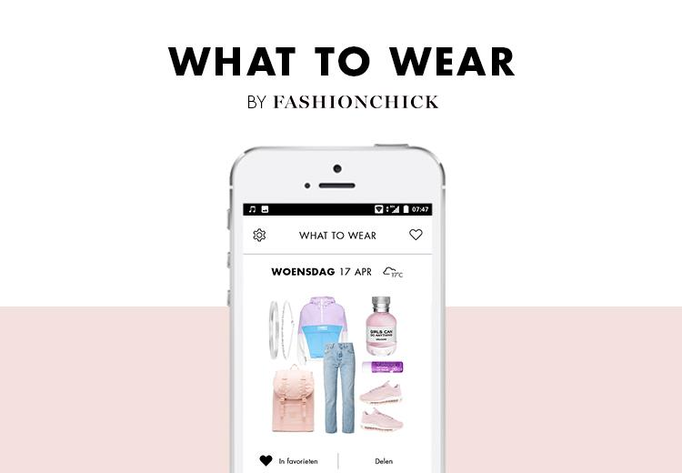 Nooit meer kledingstress dankzij de What to wear app