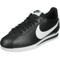 Nike Classic Cortez Leather W schoenen zwart wit