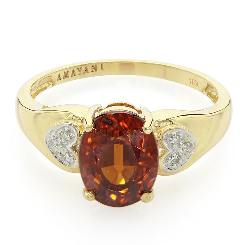 Amayani Gouden ring met een Mandarijn granaat Hyper Online Officieel Te Koop Speling Krijgen Om Te Kopen Korting Te Koop Klaring Winkelaanbod sSERDPv