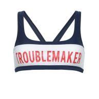 Zoe Karssen: Troublemaker bikini top blauw