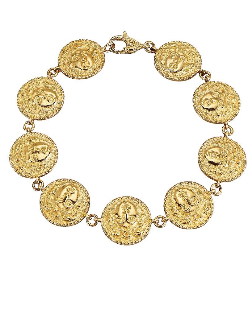 Bracciale In Oro Diemer Con Monete Gialle iZJKXLAeG