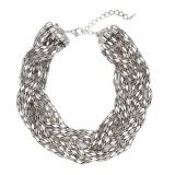 Silver Statement Chain Necklace