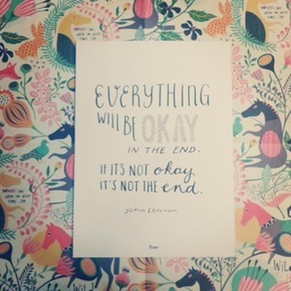 Quote Everything will be Okay
