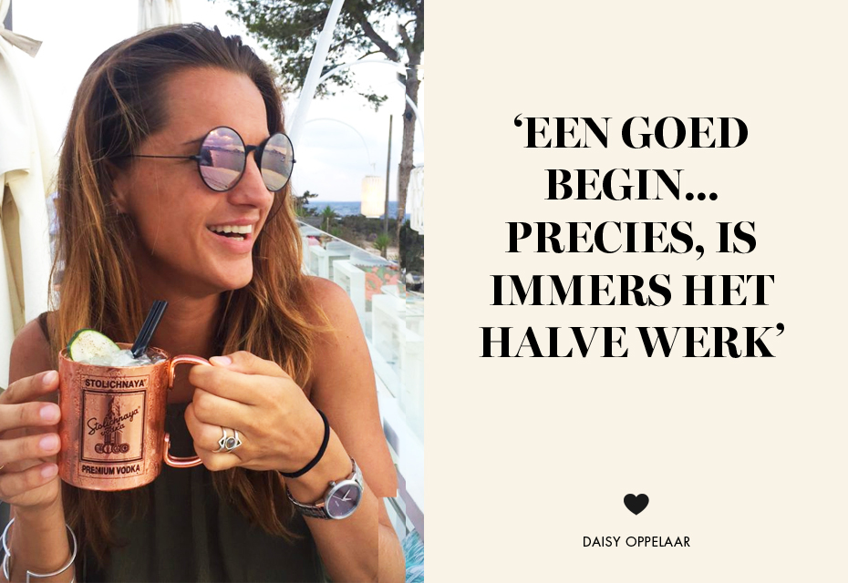 Eerste foto daisy   quote