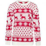 LOVIN' CHRISTMAS SWEATER WHITE-onesize