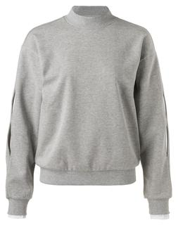 Sweater With Sleeve Details
