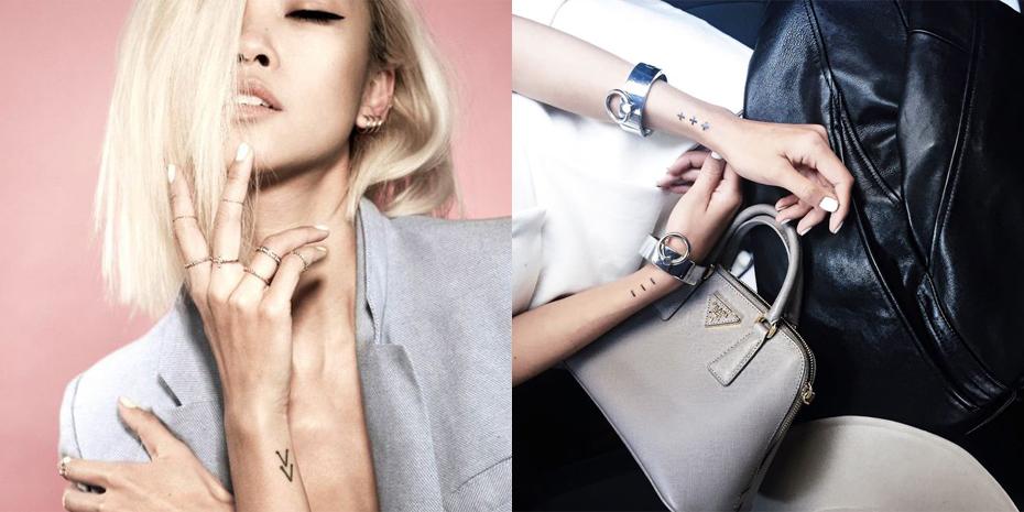 Blogger tattoos
