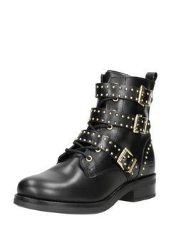 dames veterschoenen - Zwart