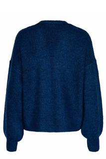Woman Vest Blauw Bente