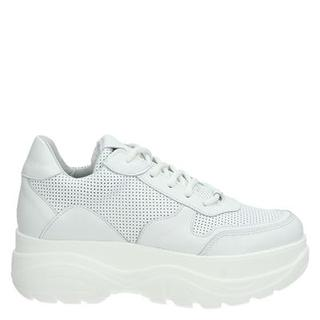 hoge sneakers wit