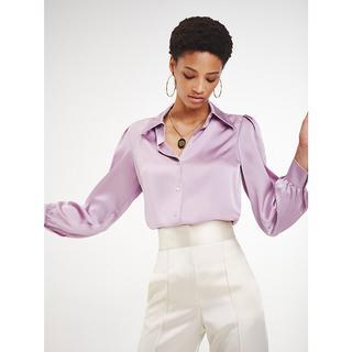 Zendaya satijnen blouse