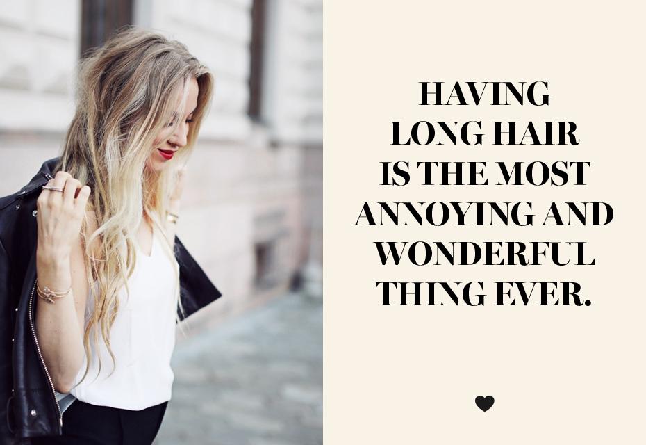 10 dingen die vrouwen met lang haar herkennen