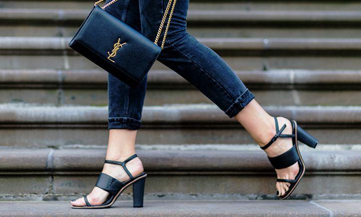 Sandaal met hak: de ideale zomerschoen