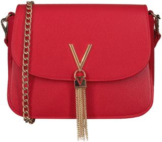 Rode Schoudertas Divina Shoulder Bag