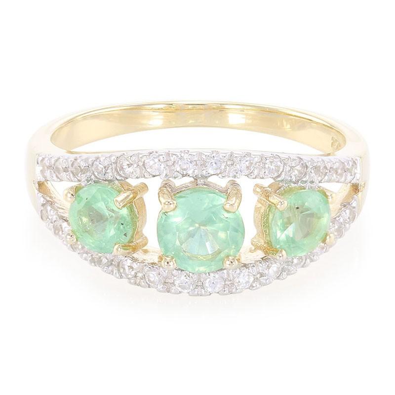 Gratis Verzending Finish Originele Online Te Koop Juwelo Gouden ring met een Munt Kyaniet Heel Goedkoop Te Koop De Goedkoopste T7PET7E
