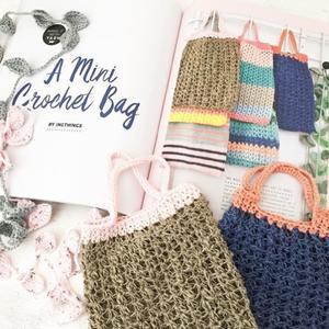Make it yourself crochet bags