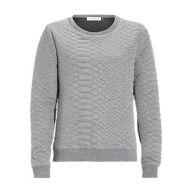 Sweater met reliëf