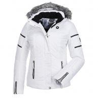 Icepeak, Carol, gewatteerde ski-jas, dames, Wit