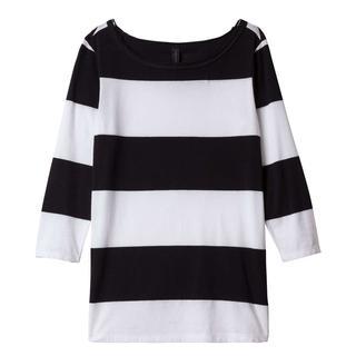 t-shirts 20-772-9101 in het Zwart / Wit