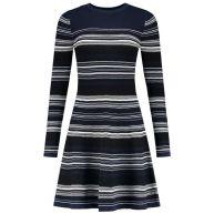 Nikkie jurk n7561-1801 in het Donker Blauw