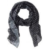Dames sjaal frida in zwart - bpc bonprix collection