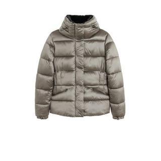 tussenjas zilver Gewatteerde jas (Dames) - Dames