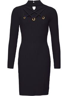 6bb28af6cb2832 Zwarte gebreide jurken online kopen