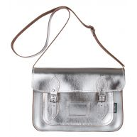 Metallic Satchel 13 inch
