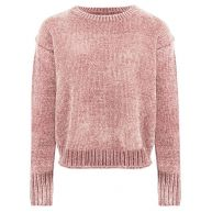 Chenille Sweater - Light Pink