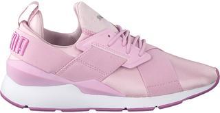 Roze Sneakers Muse Satin Ii