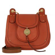 See By Chloé Schoudertassen - Susie Crossbody Bag Leather Fawn in rood voor dames
