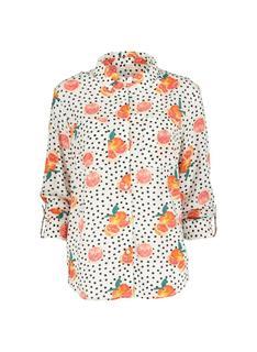 Damesblouse Oranje (orange)