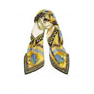 Versace Sjaal van zijde 90 x 90 cm