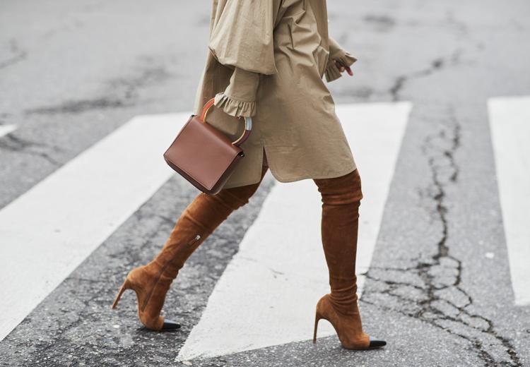 5 manieren om overknee laarzen te dragen