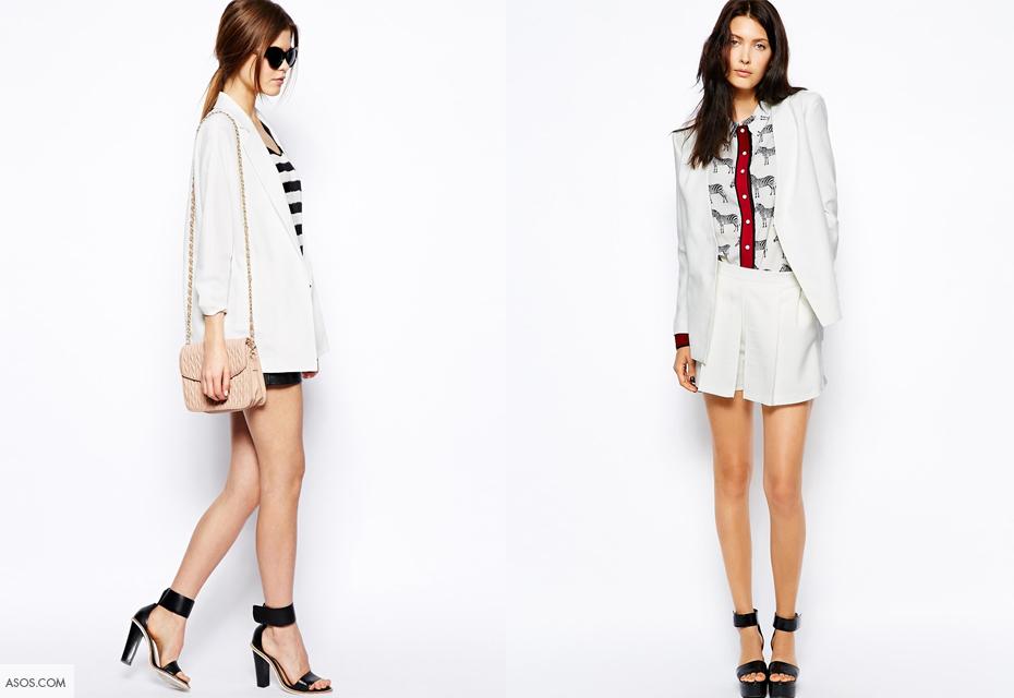 Zeer When in doubt; de oneindig combinaties van de witte blazer @BW41